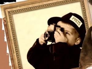 фотоаппарат ребенок журналист