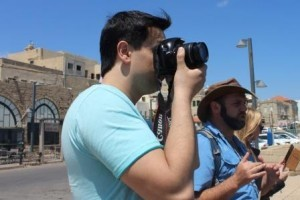 Тренер Школы журналистики Сергей Барановский в пресс-туре в Израиле. Организаторы сделали поездку прекрасной и продуктивной.